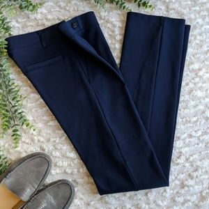 Betabrand XS Straight Leg Dress Pant Yoga Pant